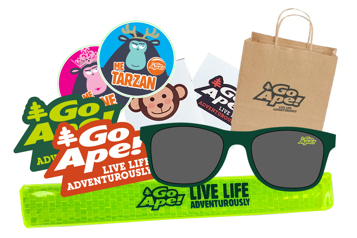 Teen goodie bag for birthday parties
